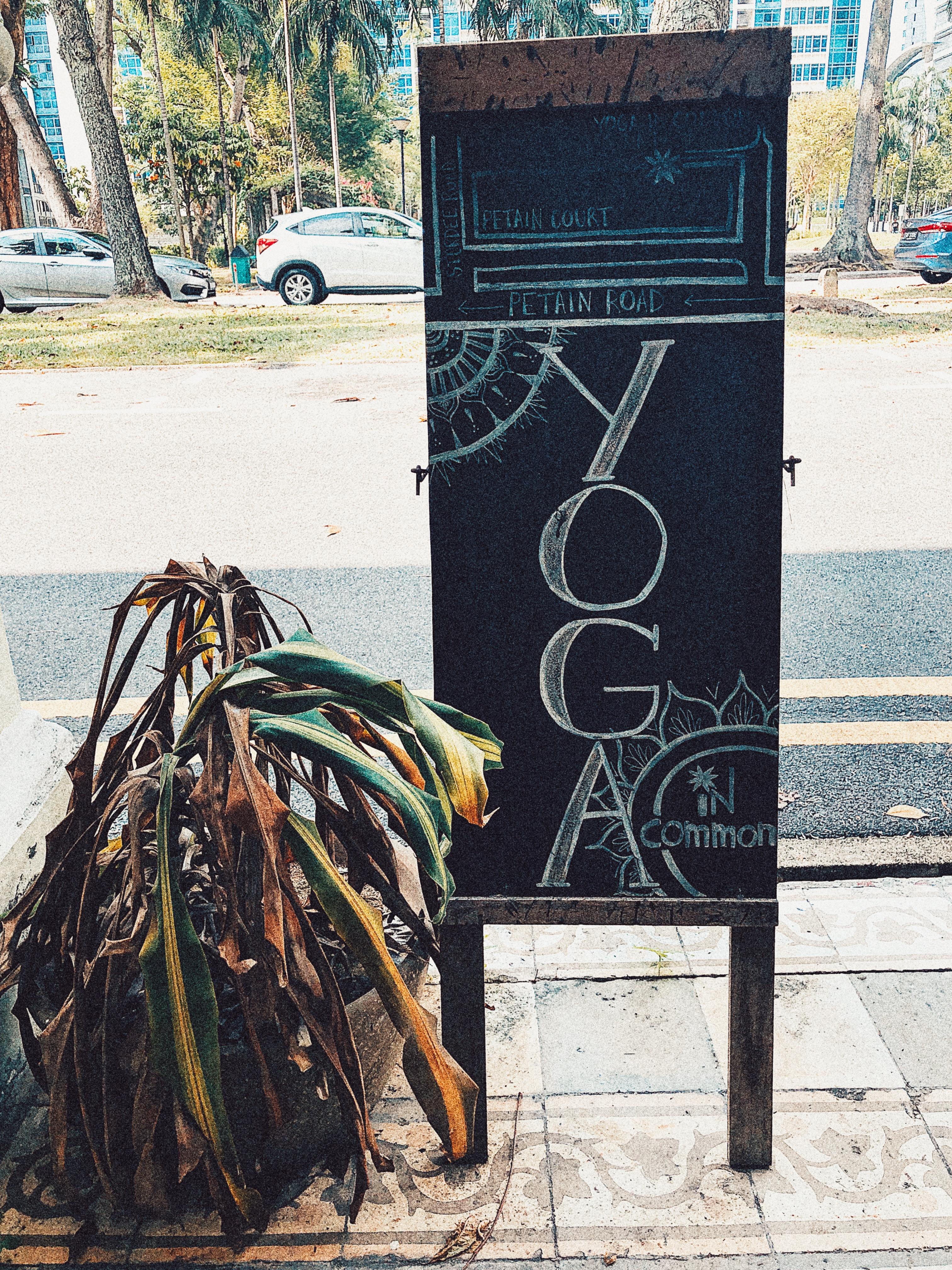 シンガポール サンドヒーリング おすすめ  Yoga In Common