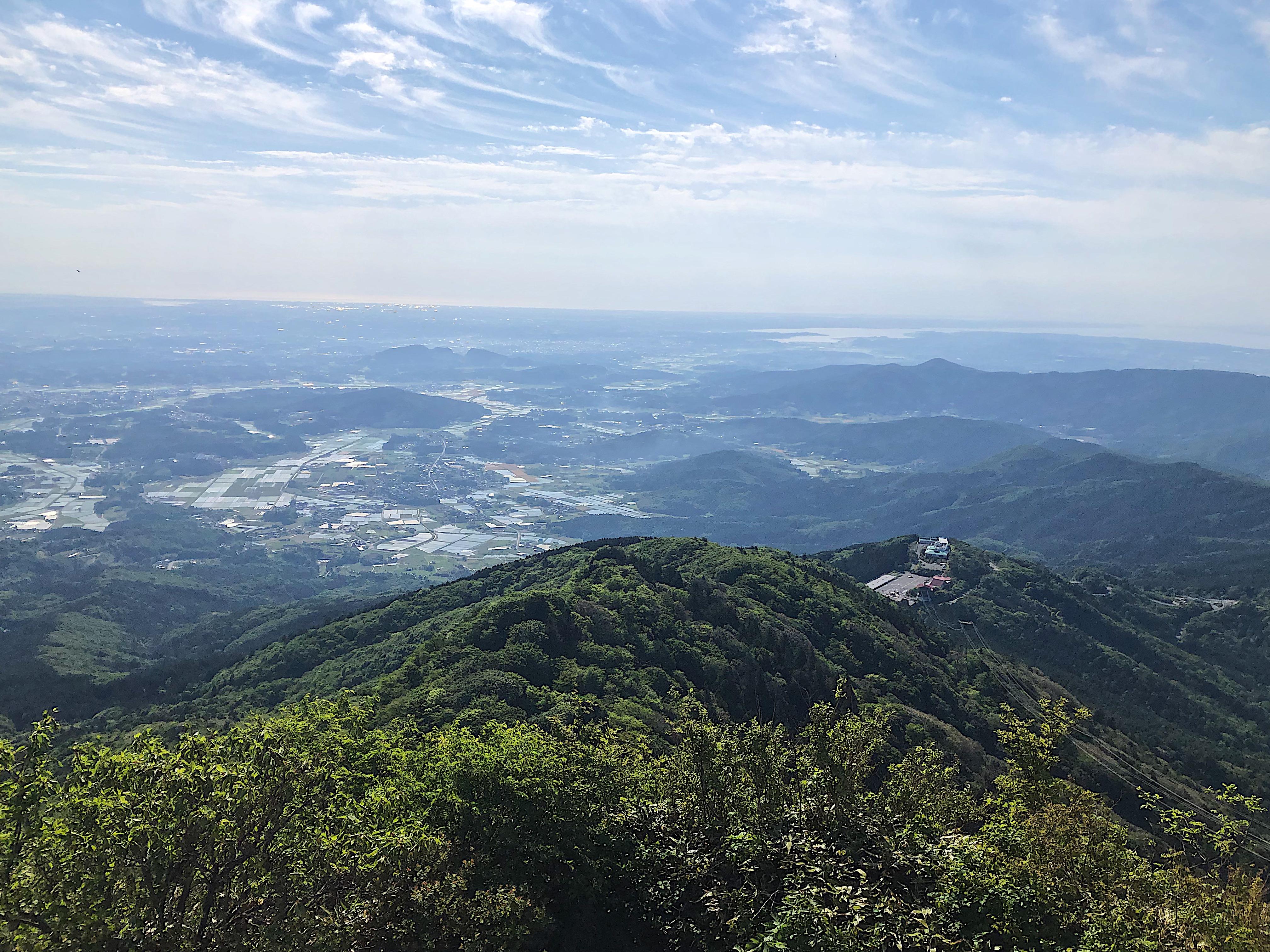 筑波山登山 山頂