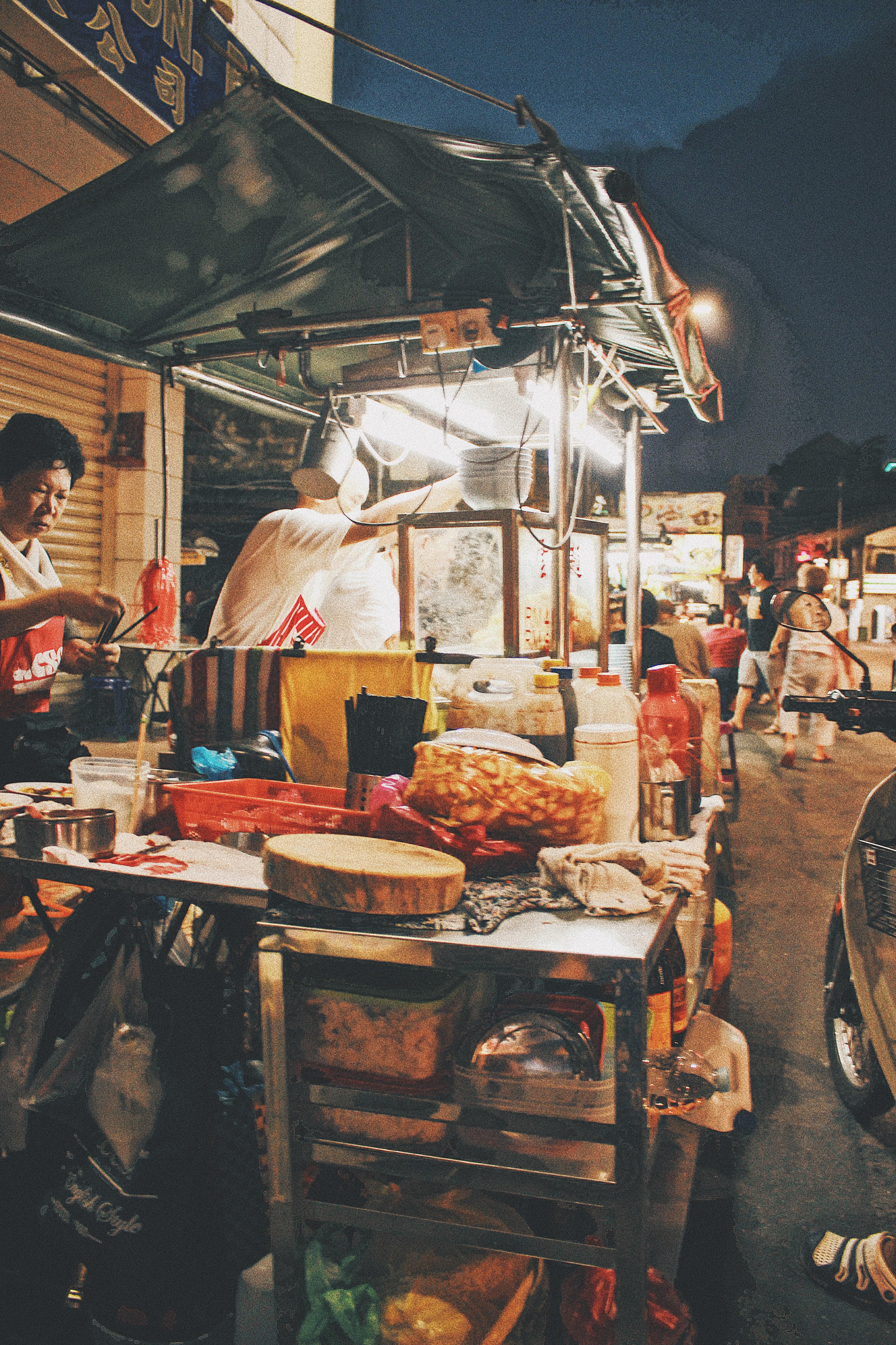 チュリア通り ペナン ワンタン麺